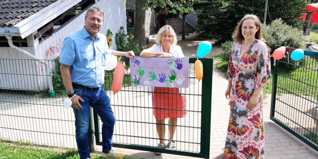 v.l.n.r.: Peter Heidt, Christiane Vix, Lena Herget-Umsonst